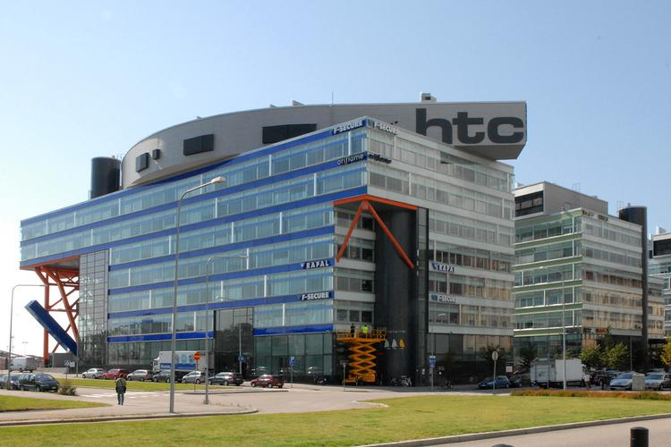 "Les bâtiments du HTC ""High Tech Center"" (Helsinki) (image)"