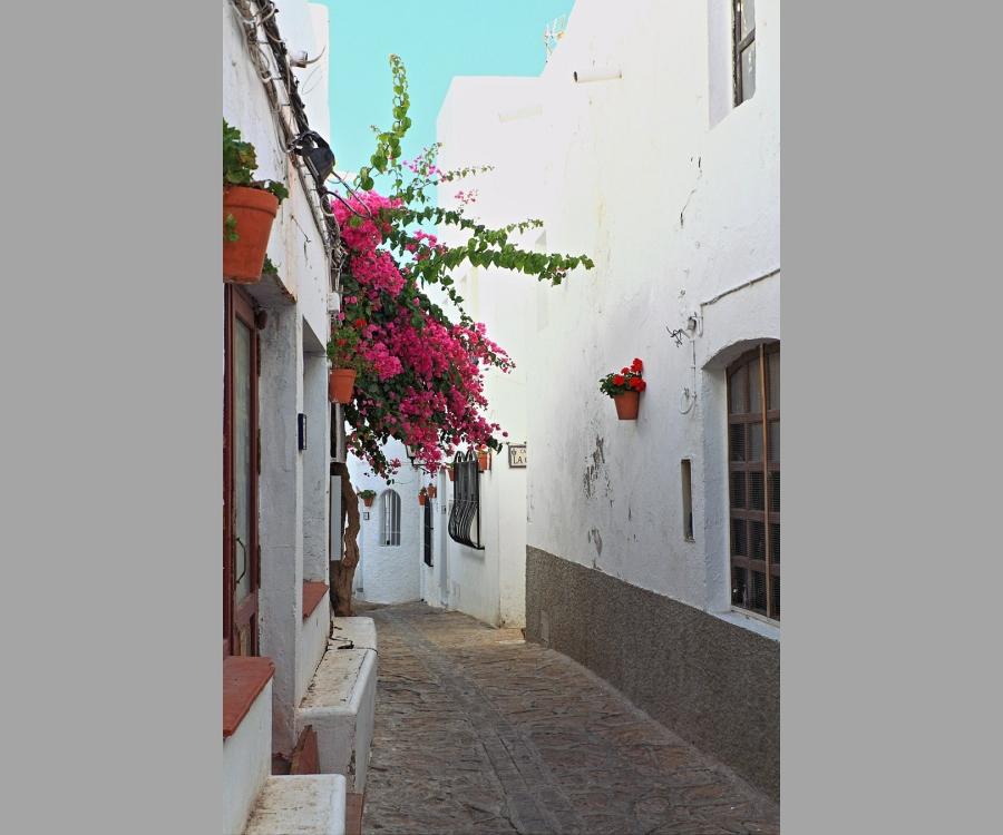 Mojacar typical street (c)