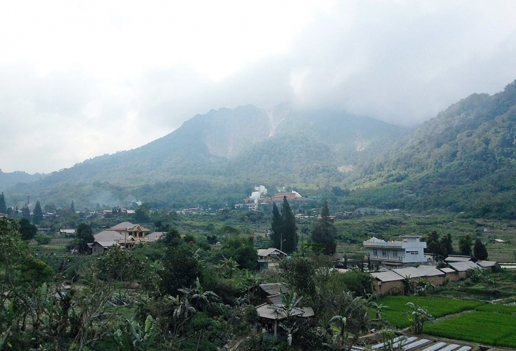 Mount Sibayak from Semangat Gunung 03