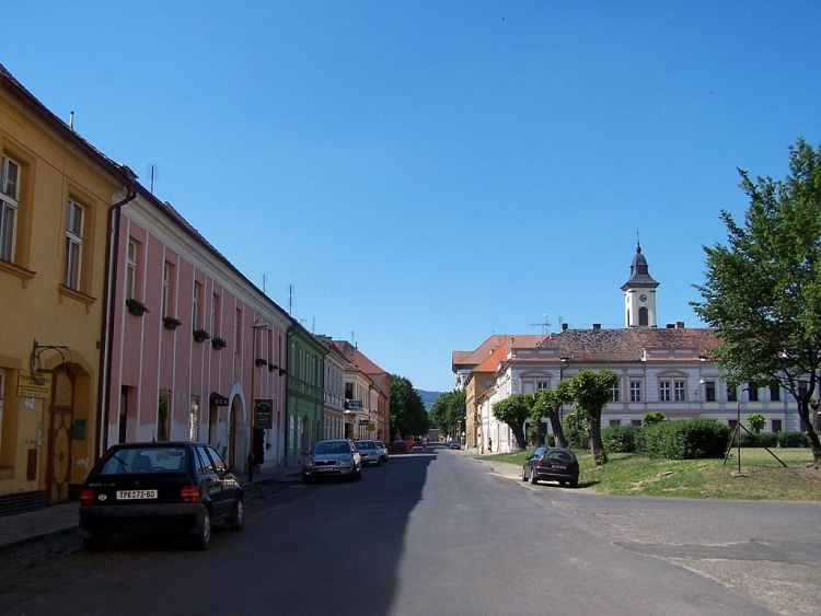 Terezín - Tyršova - View North