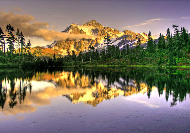 Mt. Shucksan in the North Cascades (image)