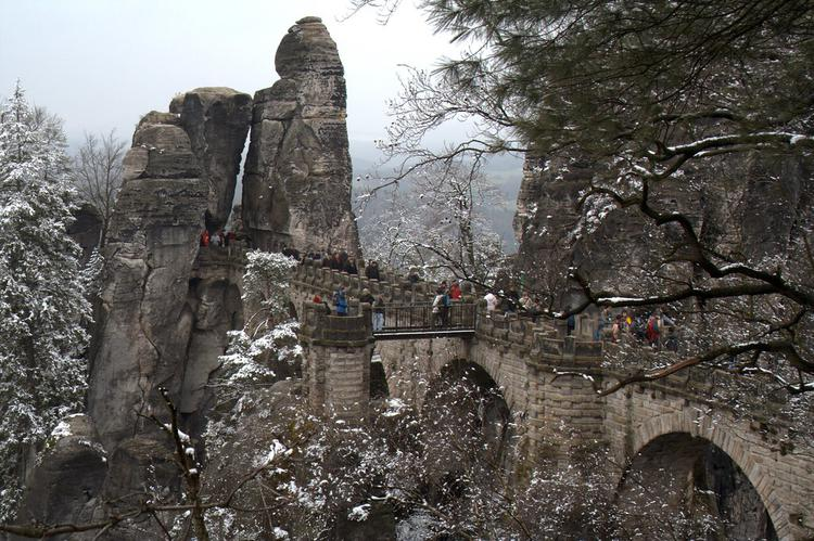 Bastei @ Saxon Switzerland (image)