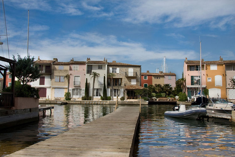 View on houses in Port Grimaud (image)