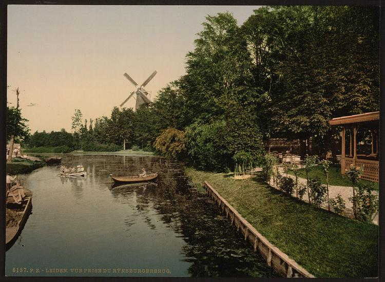 [View from Rijnsburgerburg, Leyden, (i.e., Leiden) Holland] (LOC) (image)