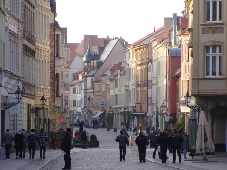 Lutherstadt main street (image)