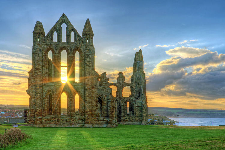 Whitby Abbey at Sunset (3) (image)