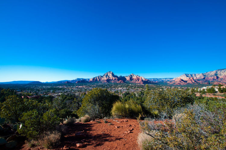 Overlook from Sedona Airport (image)