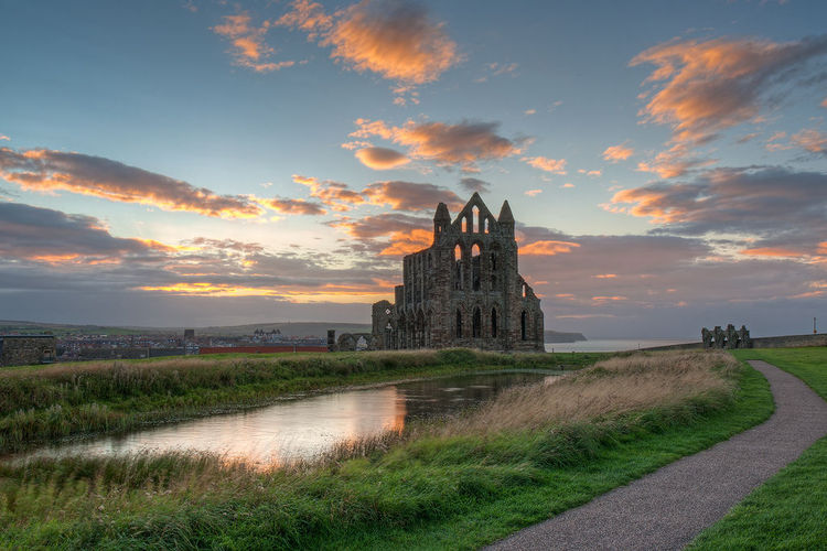 Whitby Abbey at Dusk (2) (image)